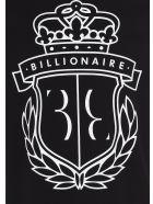 Billionaire 'crest' T-shirt - Black