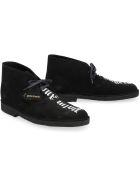 Palm Angels Suede Desert Boots - Palm Angels X Clark's - black