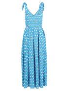 Alessandro Enriquez Viscose Dress - Light Blue