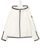 Moncler Kid  Ivory Breanna Jacket