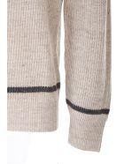 Brunello Cucinelli beige linen and cotton sweater - Beige