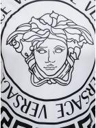Versace Medusa Print Cotton T-shirt - White