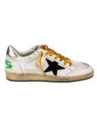 Golden Goose Ball Star Sneakers - White/Black