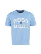Hugo Boss Boss X Russell Athletic - Cotton Crew-neck T-shirt - Blue
