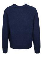 Acne Studios Ribbed Plain Sweater - Blu