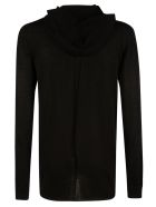 Rick Owens Slim Hooded Sweater - Black