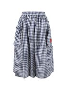 Sonia Rykiel Multicolor Skirt For Girl - Blue
