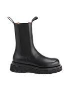 Bottega Veneta Ankle Boots Storm Cuir - Black