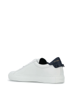 Givenchy Man White And Navy Blue Urban Street Sneakers