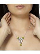Lo Spazio Jewelry Lo Spazio Primavera Necklace - Multicolor