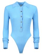 Dodo Bar Or Knitted Bodysuit - Blue