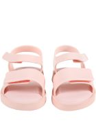Melissa Pink Sandals For Girl With Logo - Pink