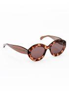 Alaia AA0004S Sunglasses - Brown Brown Brown