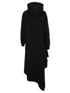 Balenciaga Easywrap Hooded Dress - BLACK