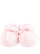 Story loris Pink Bootee For Babygirl - Pink