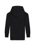 Balenciaga Black Sweatshirt For Kids With Logos - Blackmulticolor