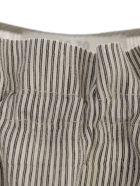 19.70 Nineteen Seventy Striped Top - Black Cream