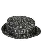 Maison Michel Jason Hat - Black/Silver