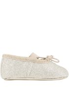 Gallucci Gold Ballet Flats For Baby Girl - Gold