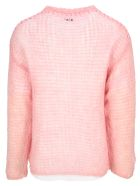 Magliano Double Knitted Fleece - PINK