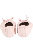 Gallucci Pink Ballerina Flats For Babygirl - Pink
