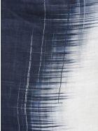 Altea Printed Scarf - Blue/White