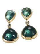 Lo Spazio Jewelry Lo Spazio Eden Rock Verde Earrings - Green