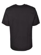 MSGM Mid Small Logo Print T-shirt - Nera