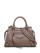 Balenciaga Neo Classic City Handbag In Taupe Colored Leather - Beige