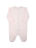 Ralph Lauren Pink Babygrow For Baby Girl With Roses - Pink