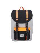Herschel Supply Co. Herschel Herschel Little America Backpack - BLACK NEON ORANGE