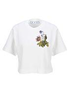 Off-White Off White Botanical Arrows T-shirt - Bianco
