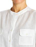 Kiton Shirt Linen - WHITE