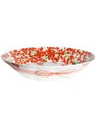 Taitù Large Bowl - Fil Rouge Bacche Collection - Red