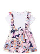 Emilio Pucci Dress With Floral Print - Glicine-celeste