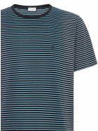 Saint Laurent Sain Laurent T-shirt - Blue