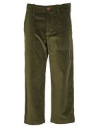 Jejia Green Courdoy Trousers - Green