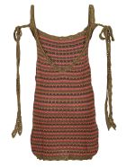 Alanui Desert Summer Mini Dress - Military G
