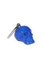 Alexander McQueen Skull Keyring - Blue