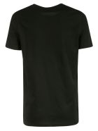 Balmain Metallic Logo T-shirt - Black/Gold