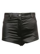 Saint Laurent Classic Buttoned Shorts - 54% Cotton, 48% Acetate