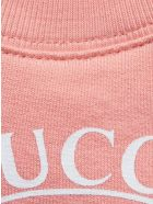 Gucci Pink Organic Cotton Sweatshirt - Pesca