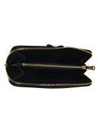 Miu Miu Zip-around Logo Continental Wallet - Black