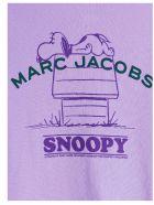 Marc Jacobs 'rest Of My Life' Sweatshirt - Purple