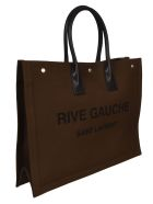 Saint Laurent RIVE GAUCHE Tote - Brown