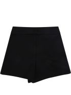 Balmain Black Short For Baby Girl - Black