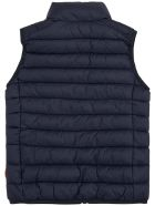 Save the Duck Andy Blue Ecological Sleeveless Down Jacket - Blu