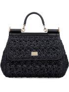 Dolce & Gabbana Sicily Handbag - black