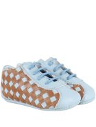Gallucci Multicolor Shoes For Babyboy - Light Blue