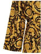 Versace 'barocco Ss92' Robe - Multicolor